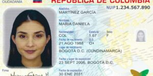 Cedula Digital Colombia