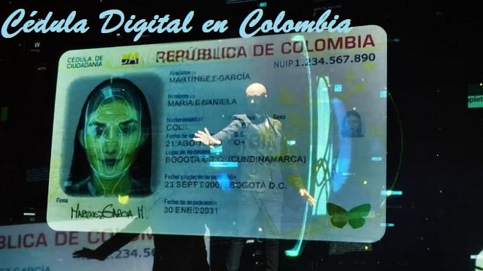 Cédula digital en Colombia